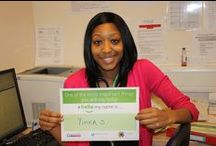 #hellomynameis / One of the most important things you will say today!