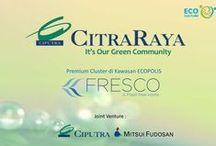 Cluster FRESCO @ Ecopolis, Citra Raya / FRESCO - Premium Cluster @ Ecopolis - 100 Ha [ joint venture Ciputra & Mitsui Fudosan ], Citra Raya