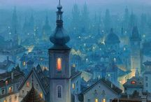 City of my life / Where i was born, city of my life, my hometown, big history, magic, unforgetable place