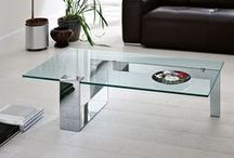 Tonelli / Beautiful glass furniture from one of the top Italian glass specialists. Using years of experience and expertise Tonelli create dining tables, coffee tables, bookcases, mirrors and more, ranging from the simple to the spectacular.