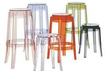 Bar Stools and Counter Stools / From funky plastic stools to sophisticated contemporary leather or wood stool,s this selection has a stool for every home.