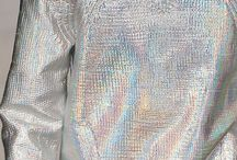 Silver, Gold & Holographic