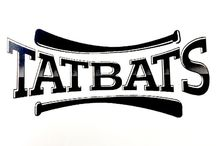 Tatbats baseball bats / Baseball Bats custom wood tattoo style