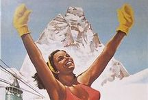 Travel Posters / The best vintage travel poster curated for you. Find inspiration to travel the old way.  www.mytwinplace.com