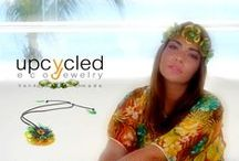 Upcycled People / Friends with our jewelry. Jewelry PET bottles Addiction
