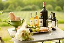 Pretty Vineyard Picnics / Ideas for your next trip to one of our CT farm vineyards.