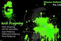 Web Designing /  This board is about web designing for a website.