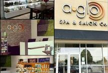 In the News! / Newsworthy items about A Glo Spa & Salon Co.