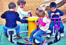 Merry-Go-Rounds / Noah's Park & Playgrounds offers a variety in Merry Go Rounds and Replacement Parts. It's perfect for any daycare or school!
