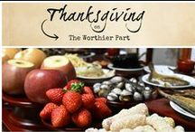 Thanksgiving / pretty Thanksgiving and autumn cards from Sendcere!