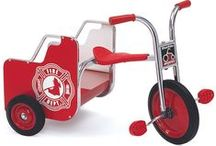 Trikes and Scooters / Noah's Park & Playgrounds offers the best prices on commercial tricycles and scooters. Perfect for any early childhood ages!