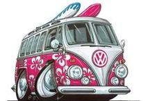Kombi VW - Van - Bus / Só as combis mais belas da net / by Auri Luis Martini