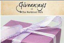 Giveaways / Giveaways -- enter for freebies!