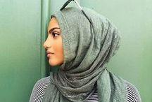 hijab fashion / Look des hijabista