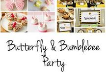 Butterfly & Bumble Bee Party