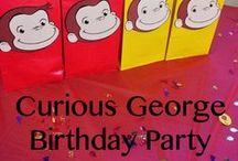 Curious George Monkey Birthday Party