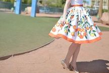 Skirt Inspiration / Help me coordinate skirts