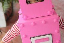 DAGISAVSLUTNING 2016 / Tema ej spikat. Robot? Robot/superhjälte som recyclar o räddar världen och är detektiv och löser mysterium?