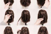 Hair do half lang