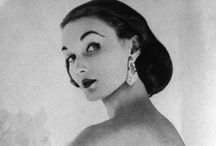 Evelyn Tripp, Vintage High-Fashion Model, from Desloge, MO / Evelyn Tripp was a popular high-fashioned model who modeled for Vogue, Harper's Bazaar, Saks Fifth Avenue, and high-profile photographers in New York such as Lillian Bassman in the late 1940's, 1950's and 1960's.   She was a daughter of a lead miner, grew up in Gumbo, Mo,  and graduated from high school in nearby town of Desloge, Missouri. There are lots of vintage fashion photos on this board.  / by Bettye Warner