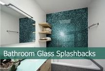 Glass Splashbacks for Bathrooms / Splashbacks are great for showers and wet rooms as they are easy to clean and don't form mold around the edges as tiles usually do. We have a wide range of vibrant and subtle colour splashbacks as well as bespoke printed images and many other premium designer finishes. View our full bathroom backsplash collection here http://www.creoglass.co.uk/bathroom-glass/bathroom-glass-splashbacks/