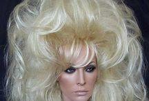 Big Hair Styles / Collection of big, bizarre hairstyles / by Bettye Warner