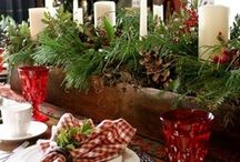 Christmas Tablescapes / by Helen Antifaeff