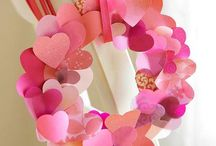 Valentines day / Heart shaped crafts