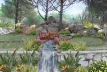 Chalet Landscape Design / Landscape design project of a Chalet in Bergama/Izmir/TURKEY