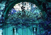 All Shades Of Turquois ... my favourite- Všechny odstíny tyrkysové