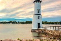 Lighthouses & Sea coasts / Lighthouses, beaches, shores, shells...