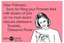 My Pinterest Declaration & Disclaimer / WARNING: I am an Obsessive Pinner so if you follow me or my boards you may find your pin feed overwhelmed with my pins at times, but I really hope you will enjoy what I pin. Please feel free to repin whatever and as many pins as you like, I have no limits or restrictions.  All Content on my Pin Boards is Owned and Copyrighted by it's original owners. In the event I'm asked, I will delete any pin/image upon request, email me at       charmaine@charmainezoe.net. with a link to the pin in question. / by Charmaine Zoe