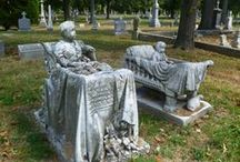 Macabre & Morbid: Tombs, Graves, Effigies, Cemetaries, Crypts & Catacombs / by Charmaine Zoe