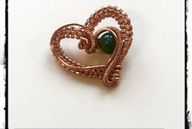 Wire Wrapping & Weaving / Wire wrapped & woven