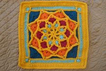 Granny Square / Granny Square  Patrones gratuitos patterns free