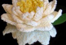 Flores a crochet / Cómo hacer flores a crochet  Patterns patrones free gratuitos