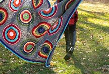 Mantas a crochet / Tutoriales y patrones gratis