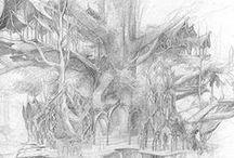 art / digital or traditional drawings