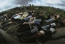 The Jonestown Massacre / Articles, audio and video about Jim Jones and The People's Temple camp in Jonestown. Jones and his 1000 strong congregation all died on Nov 18th 1978 in a mass suicide after years living in concentration camp conditions in the jungles of Guyana. They followed Jones there on a promise of a socialist utopia, but found a work camp which employed MK Ultra mind control techniques, sleep deprivation, drugs and sexual assault. We're the CIA involved? Was Jones a government agent? Read here to find out