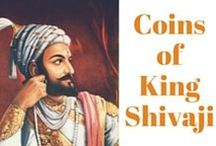 Coins of Shivaji Maharaj / Coins issued by the great Maratha warrior king Chhatrapati Shivaji Maharaj.