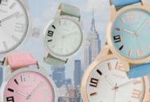 HORLOGE'S / OOZOO horloges volgen niet de trends maar ze zetten de trend!.