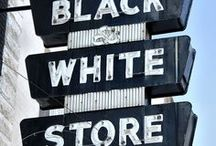 My blacks & whites