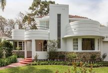 Fascinating Art Deco/Nouveau / I love the bold geometric lines and curves of these early 1900's styles, and the way they evolved and melded into everyday life of that era.