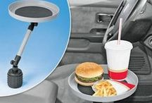 Car Gadgets / Collection of new and old car gadgets that can help make driving more convenient, and simple gadgets that can help find those misplaced keys.