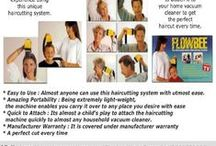 Flowbee Hair Cutter / The Precision Home Haircutting System with the Flowbee Precision Haircutting System, give you professional hairstyling results in the convenience of your own home.