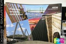 Large Format Graphics for trade show exhibits and events. / Large Format Graphics