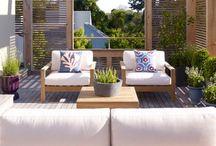 Outdoor spaces /  patios