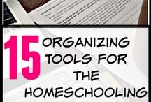 Homeschool Organization / I have found plenty of ways to get organized this year. Pick one or a few to save you from being overwhelmed in your school. Happy Planning!