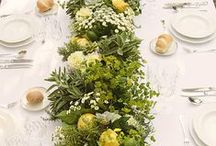 Centrotavola/Centerpieces / Wedding centertable ideas