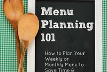 Menu Planning / Resources to help make planning a little easier.